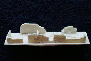 Wargames Tournaments 15mm 15/EB11 Northern European Ruined Long House
